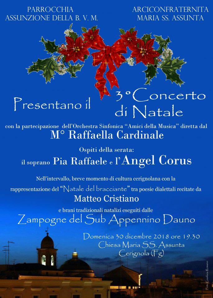 Poesie Di Natale Tradizionali.Ritorna All Assunta Il Tradizionale Concerto Di Natale Diocesi Di